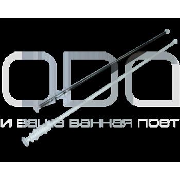 Карніз ODA для ванної кімнати прямий універсальний