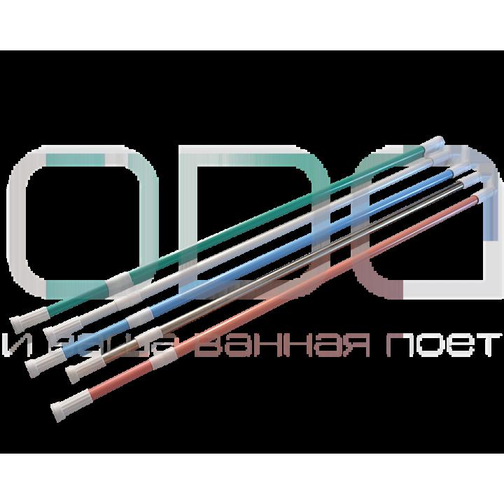 Карніз ODA для ванної кімнати прямий універсальний хром
