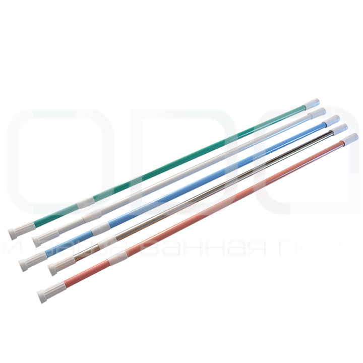 Карніз ODA для ванної кімнати прямий універсальний 120-220