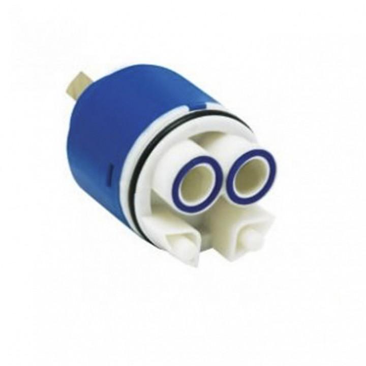 Картридж для змішувача Cristal 40мм латунний шток NCV-02B
