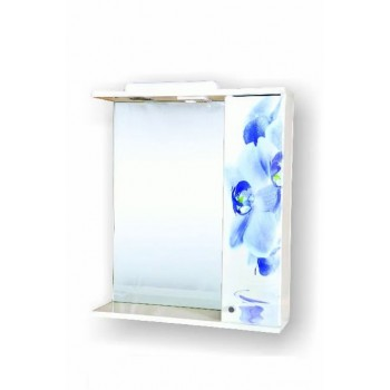 Дзеркало Орхідея блакитна 60